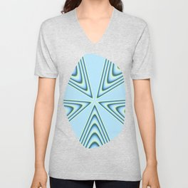 Linear Waves in MWY 01 Unisex V-Neck