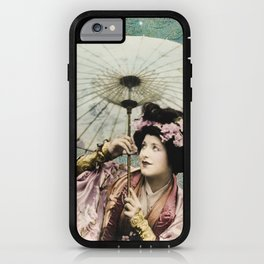 Japanese snow queen iPhone Case