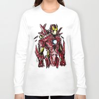 ironman Long Sleeve T-shirts featuring Ironman by Dragon_xD