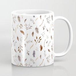 """""""Dried flowers"""" white Coffee Mug"""