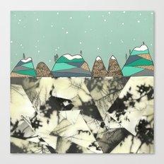 Winter Slopes Canvas Print