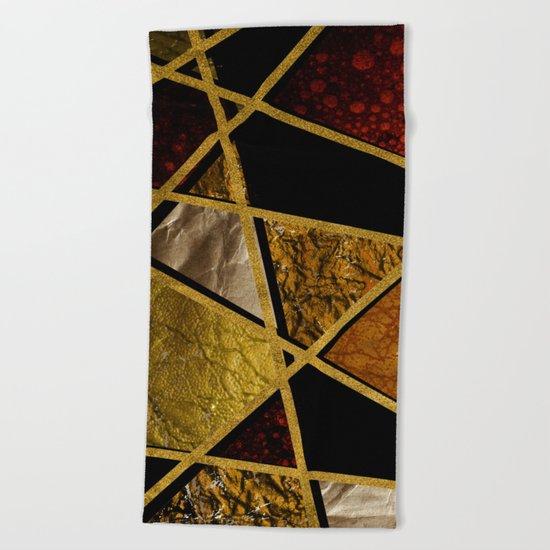 Abstract #468 Beach Towel