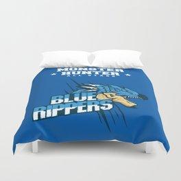 Monster Hunter All Stars - Blue Rippers Duvet Cover