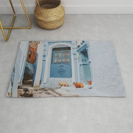 Chefchaouen VII / Morocco Rug