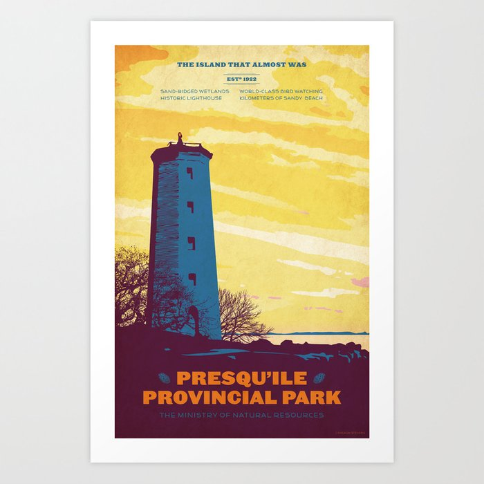 Presqu'ile Provincial Park Art Print