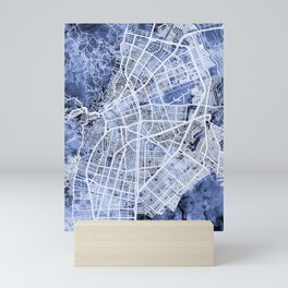 Cali Colombia City Map Mini Art Print