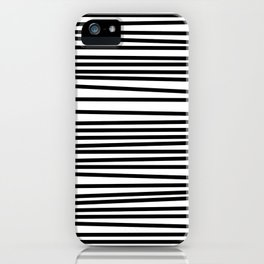 Linear Texture Print iPhone Case