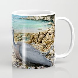 Lunch at the Beach Coffee Mug
