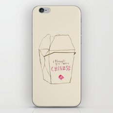 Lizzie Bennet #3 iPhone & iPod Skin