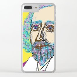 Shakespeare Punked Clear iPhone Case