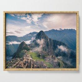 Mountain Peru Serving Tray