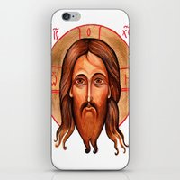 christ iPhone & iPod Skins featuring Jesus Christ by oxana zaika