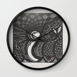 Lowercase i Wall Clock