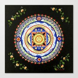 Celestial Lullaby Canvas Print