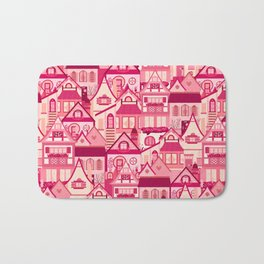 Pink Little Town Bath Mat
