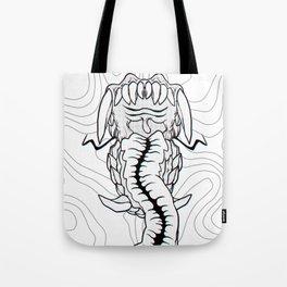 MOUTHY 3D Tote Bag
