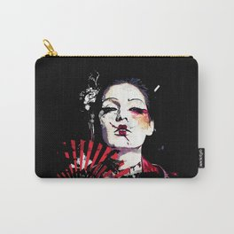 Japanese Creepy Geisha Carry-All Pouch