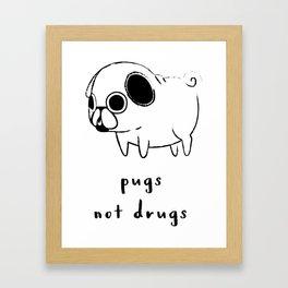 go pugs Framed Art Print