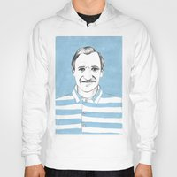 the grand budapest hotel Hoodies featuring Ralph Fiennes. The Grand Budapest Hotel.  by Elena O'Neill