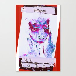 Selfyou ~ 13 reasons why Canvas Print