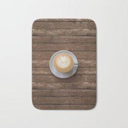 Coffee & Wood Bath Mat