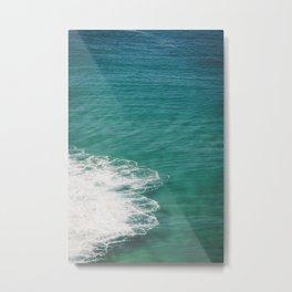 Crystal Clear Ocean View Metal Print