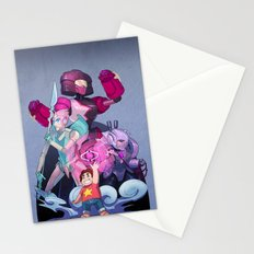 Steven and the Robot Gems Stationery Cards