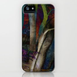 Funky Woods - JUSTART © iPhone Case