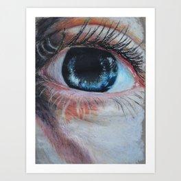 Look in my aye Art Print