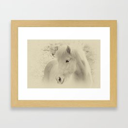 Dreaming Horse Framed Art Print