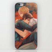 yaoi iPhone & iPod Skins featuring Raira Days by washuuchan