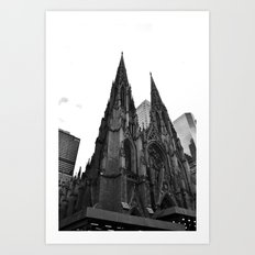 St. Patrick's Cathedral - New York City Art Print