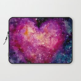 Valentine Galaxy Heart 04 Laptop Sleeve