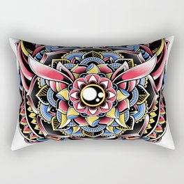 Cat Mandala Rectangular Pillow