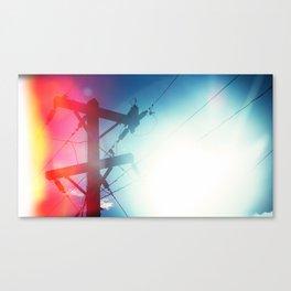 Tele Canvas Print