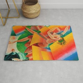 Dancer, Milan, Italy by Gino Severini Rug