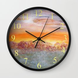 Menses 95: On Distant Lands Wall Clock