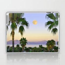 Palms on Full Moon Laptop & iPad Skin