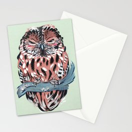 Tawny Owl Stationery Cards