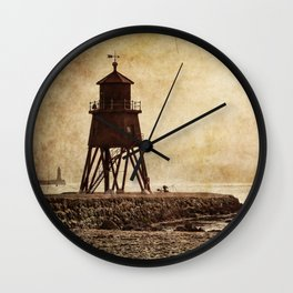 South Shields Beach Wall Clock