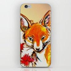 Fox in Sunset iPhone & iPod Skin