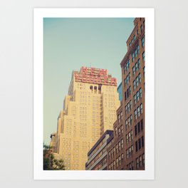 Vintage New Yorker Art Print