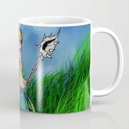 Warrior Mermaid Coffee Mug