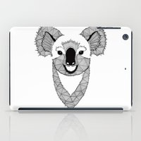 koala iPad Cases featuring Koala by Art & Be