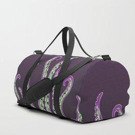 Tentacles of the Kraken - Purple Duffle Bag
