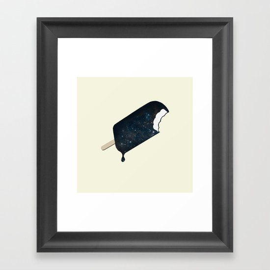 Space Melter Framed Art Print