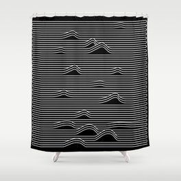 The Ocean Waves Shower Curtain