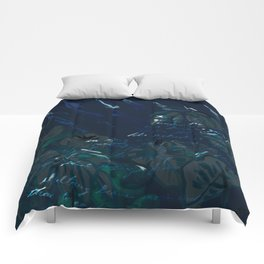 """""""Conquest of the Useless"""" by Werner Herzog Print (v. 6) Comforters"""