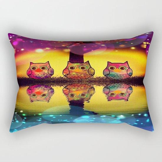 owl-37 Rectangular Pillow