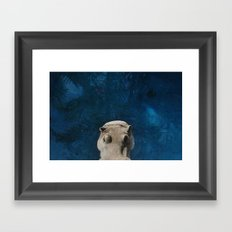 Hippo on the Tropic of Capricorn  Framed Art Print